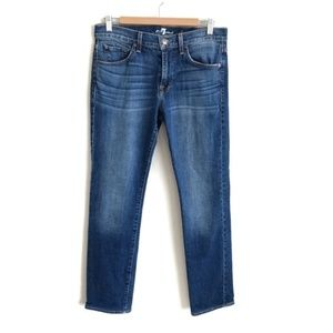 7 For All Mankind Slimmy Distressed Jeans 31x31